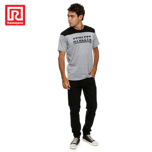 Foto Produk Ramayana - AR89 - Tshirt Kombinasi Atas S/S AR37 M71 - M - L dari Ramayana Dept Store