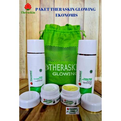 Foto Produk THERASKIN PAKET GLOWING ORIGINAL BPOM - PAKET THERASKIN GLOWING BPOM dari Cenny Store