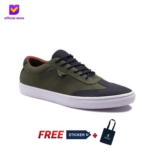 Foto Produk Sepatu Pria Sneakers Footstep Footwear - Atom Green Army - 43 dari Footstep Footwear