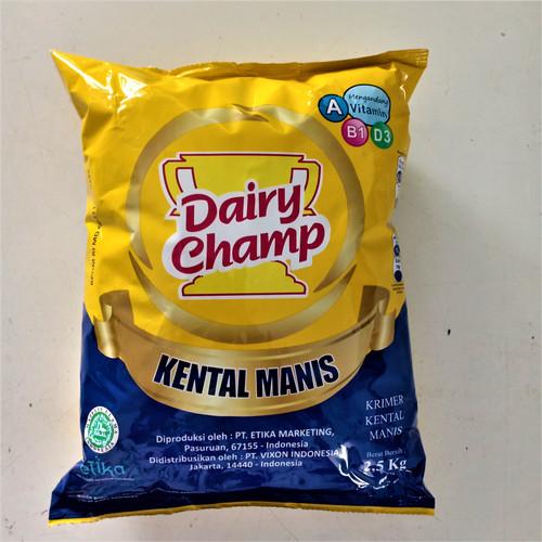 Foto Produk Susu Kental Dairy Champ Kemasan 2.5 kg dari LARIS GEMILANG