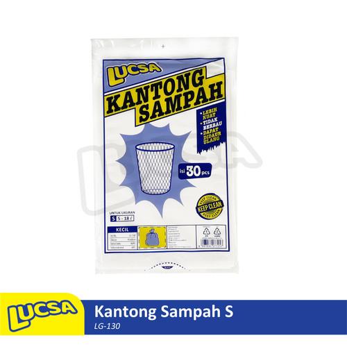 Foto Produk Lucsa Kantong Sampah S 5-18L - Plastik Sampah Bin Liner Garbage Bag dari Lucsa Indonesia