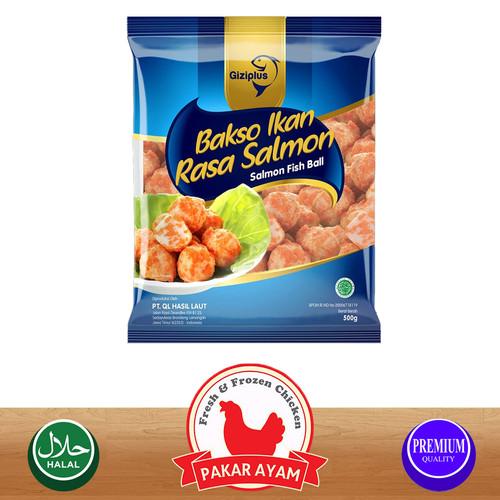 Foto Produk GIZIPLUS SALMON FISH BALL / BAKSO IKAN SALMON KUALITAS PREMIUM - 500 gram dari Pakar Ayam