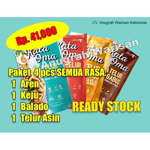 Foto Produk Kata Oma Paket Semua Rasa - 1A 1K 1B 1TA dari Anugrah Jakarta