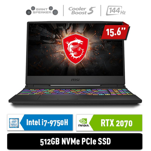 Foto Produk MSI GL65 9SFK [9S7-16U142-470] - i7-9750H 16GB 512GB RTX2070 8GB W10 dari MSI Official Store
