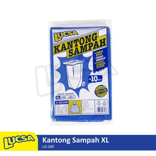 Foto Produk Lucsa Kantong Sampah XL 100-120L Plastik Sampah Bin Liner Garbage Bag dari Lucsa Indonesia