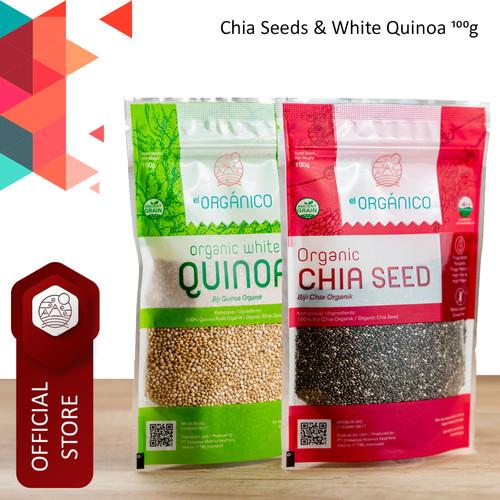 Foto Produk Chia Seed & White Quinoa Organic El Organico 100gr (Mix Pack) dari ELorganico
