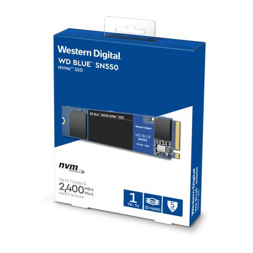 Foto Produk WD SSD BLUE SN550 1TB - M2 NVME 2280 - Baru - Ori - Garansi 5 Tahun dari @Kiosk