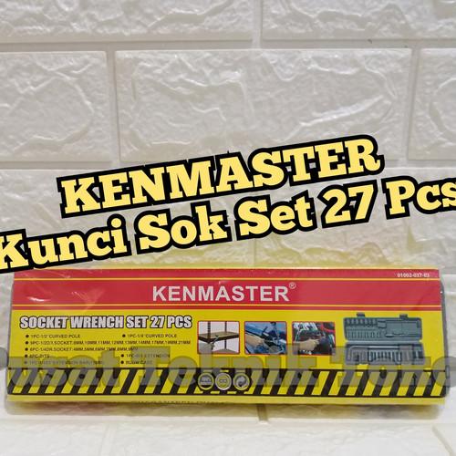 Foto Produk KUNCI SOK SET 27 PCS KENMASTER / PROFESSIONAL SOCKET WRENCH KENMASTER dari PUSAT TEKNIK TOKO