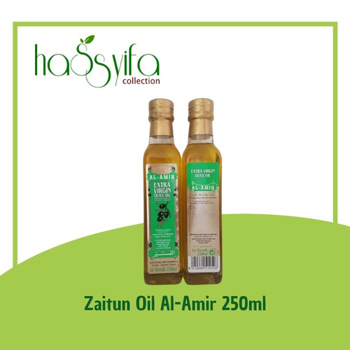 Foto Produk Minyak Zaitun Extra Virgin Al Amir 250ml Al-Amir 250ml dari Hassyifa collection