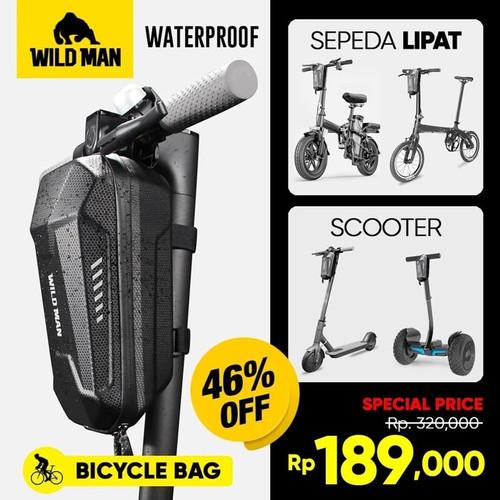 Foto Produk Tas Sepeda Lipat Tas Scooter Wildman Tas Sepeda Balok Waterproof GS8 dari zekate