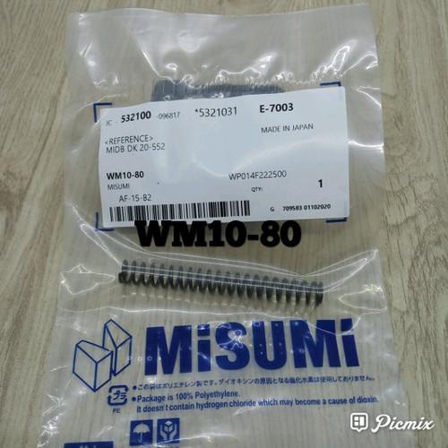 Foto Produk PER MISUMI BULAT WM 10-80 ORIGINAL JEPANG dari dayakaryamakasar