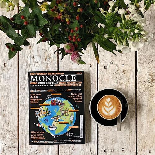 Foto Produk Monocle Magazine - UK (October 2020) dari terlenashop23