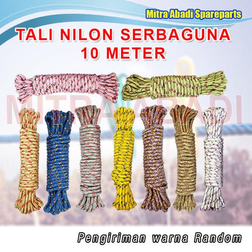 Foto Produk Tali Nilon Tambang Serbaguna / Nylon Rope 10 meter dari Mitra Abadi Spareparts