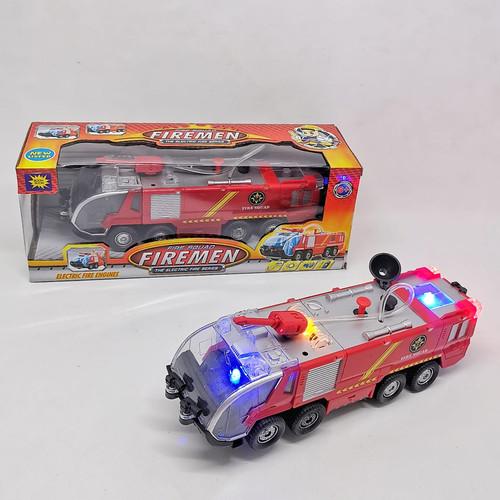 Foto Produk Mainan Mobil Pemadam Kebakaran Semprot Air, Lampu, Sirene, kode SY 733 dari EAZYTOYS