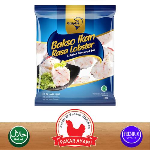 Foto Produk GIZIPLUS BAKSO IKAN LOBSTER / LOBSTER FLAVOUR FISH BALL KUALITAS PREMI - 250 gram dari Pakar Ayam