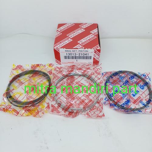 Foto Produk ring piston set toyota vios new vios yaris ovz STD 0.25 0.50 dari jaya makmur auto