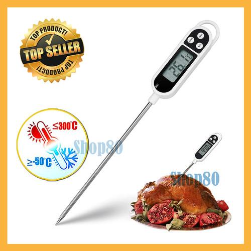 Foto Produk Termometer Dapur Makanan Masakan Masak Minuman Air Food Thermometer dari Shop80