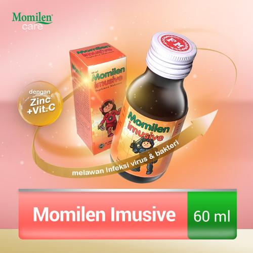 Foto Produk MOMILEN IMUSIVE 60ml / Kekebalan Tubuh Anak / Imunitas / Zinc + Vit.C dari Momilen Care