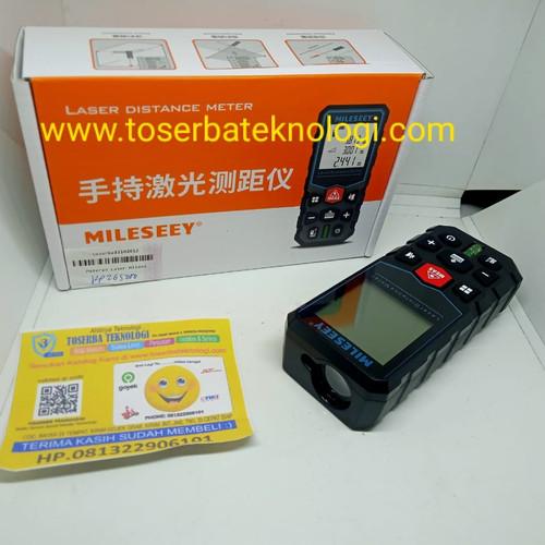 Foto Produk Meteran Laser Mileseey 40M dari Toserba Teknologi Official