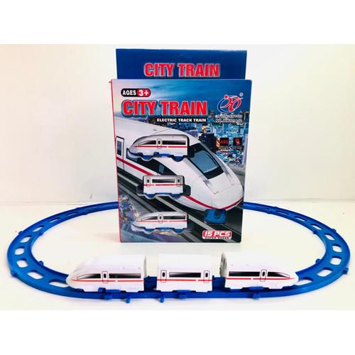 Foto Produk MRT TRAIN SET MURAH MAINAN KERETA ELECTRIC TRACK TRAIN MAINAN KERETA A dari Mainananak2_os