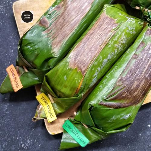 Foto Produk Nasi Bakar 1box dapat 3 varian (cumi,tongkol,teri) dari UMMU GENDIS FOOD