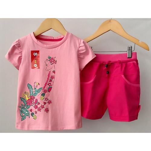 Foto Produk Setelan Anak Cewe Babypink Jerapah Size 1,2,3tahun Murah - 1tahun dari baby smile