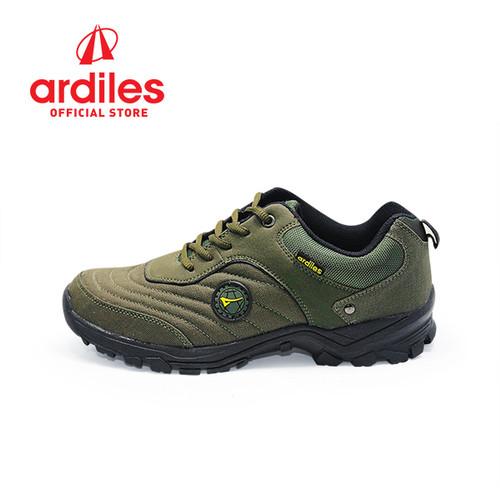 Foto Produk Ardiles Men Beckman Sepatu Running - Hitam Hijau - Hitam Hijau, 39 dari Ardiles Official Store