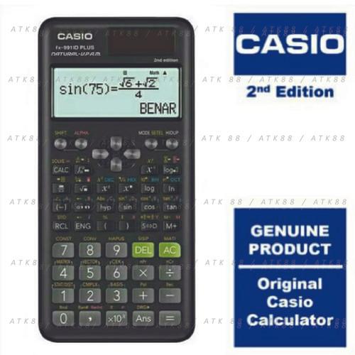 Foto Produk Kalkulator Casio Scientific FX-991ID Plus Baru FX-991 ID Plus dari Pusat Grosir ATK 88