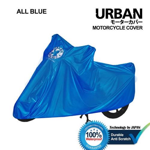 Foto Produk Sarung Cover Motor Urban Big Jumbo Size Anti Air & UV Ninja NMax CBR - Biru dari lbagstore