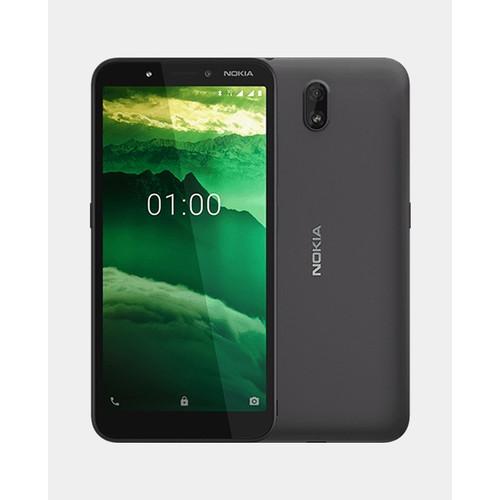 Foto Produk Nokia C1 Smartphone - 1/16GB - Garansi Resmi - Charcoal Black dari Gadhet-Holic
