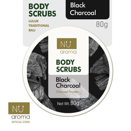 Foto Produk Nu Aroma Body Scrub / Lulur Black Charcoal dari Nu Aroma