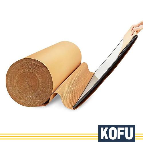 Foto Produk Single Face / Corrugated Wrap Roll - B Flute, 120 cm / Kardus Gulungan dari KardusKofuJakartaBarat