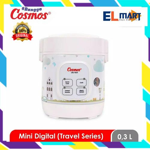Foto Produk COSMOS magic com digital mini travel 4in1 CRJ 1031/penanak nasi 0,3L dari elmart