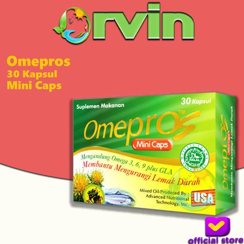 Foto Produk Omepros Mini Caps Isi 30 Kapsul dari Orvin Health & Beauty