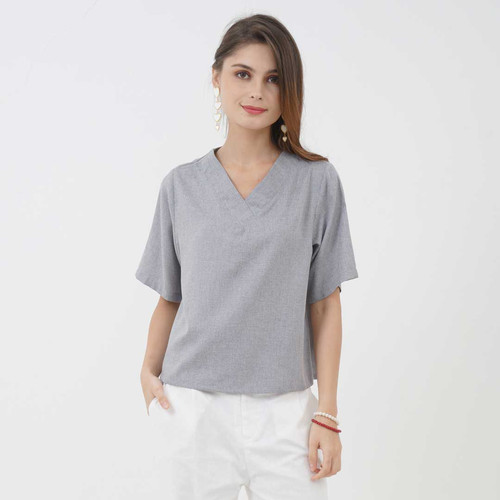 Foto Produk Vero Blouse Beatrice Clothing - Grey dari Beatrice Clothing
