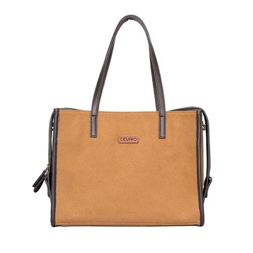 Foto Produk Ceviro Bomia Shoulder Bag Tas Bahu Tas Kantor Wanita Caramel dari Ceviro Bags Indonesia