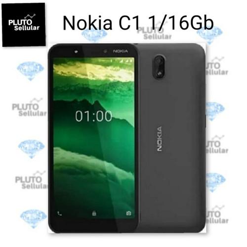 Foto Produk Nokia C1 1/16Gb Grs resmi Nokia - Charcoal dari Pluto sellular