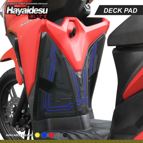 Foto Produk Hayaidesu New Vario Body Protector Deck Pad Cover - Biru dari Hayaidesu Indonesia