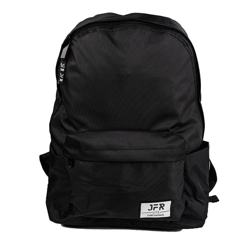Foto Produk JFR Tas Ransel Pria/ Tas Punggung Pria Backpack Bahan Polyester JBAG03 - Hitam dari Jennifer Wallet