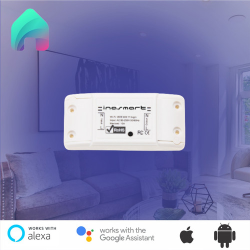 Foto Produk INASMART Smart BREAKER ON OFF Switch WiFi Pemutus Arus Listrik dari smartshopindonesia
