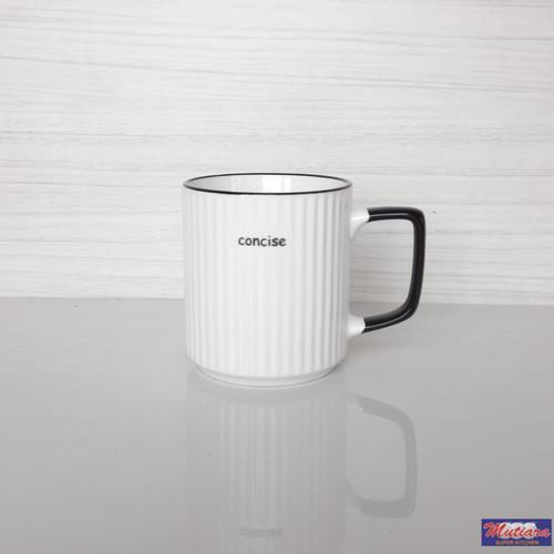Foto Produk Mug Gelas Gagang Polos Ulir S1124 dari Mutiara Super Kitchen