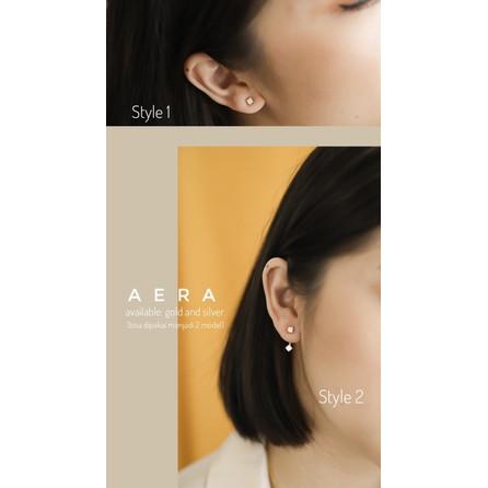 Foto Produk Dear Me - Aera Earring 925 Sterling Silver with 18k Gold Plating dari Dear Me Jewelry