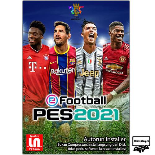 Foto Produk eFootball PES2021 - PC DVD Game Sport - softcover dari LynxNet