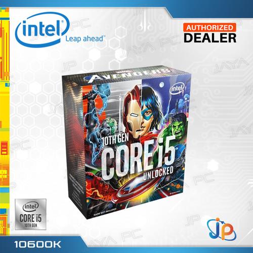 Foto Produk Processor Intel Core I5 10600K Avengers Box Comet Lake Socket LGA 1200 dari Jaya PC