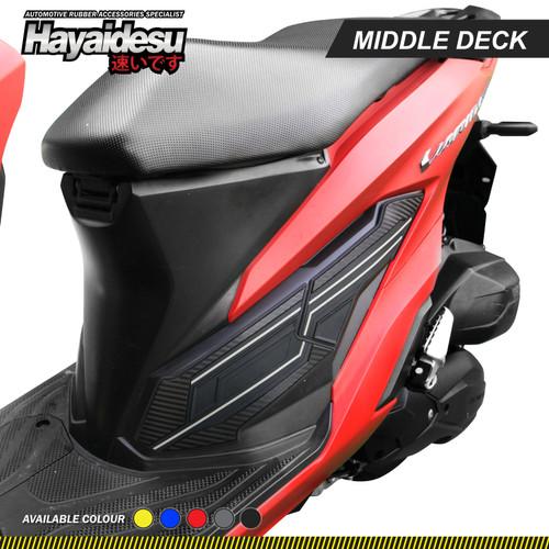 Foto Produk Hayaidesu New Vario Body Protector Middle Deck Cover - Abu-abu dari Hayaidesu Indonesia