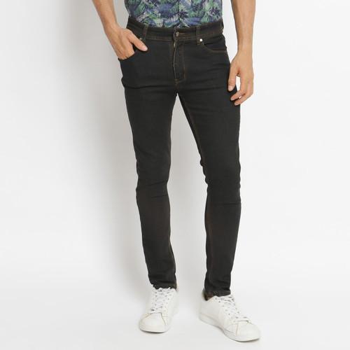 Foto Produk VENGOZ Celana skinny jeans pria - Black Wash - Hitam,30 dari VENGOZ