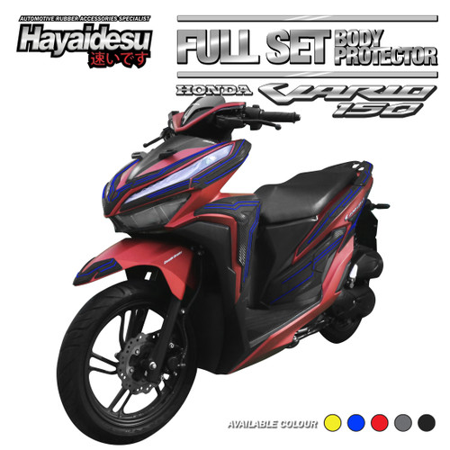 Foto Produk Hayaidesu New VARIO Body Protector Full Set Cover - Biru dari Hayaidesu Indonesia