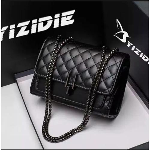 Foto Produk deltamode -tas selempang wanita - tali rantai - tas import - amora kun dari D2_shopsby