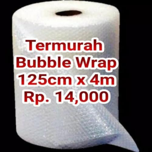 Foto Produk bubble wrap hitam dan bening 125cm x 4m/Buble wrap - Putih dari Sejahtera Family