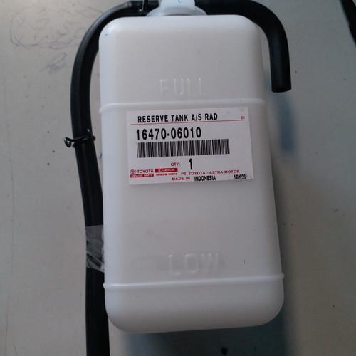 Foto Produk tabung tangki tanki air cadangan serep radiator kijang dari queena motor